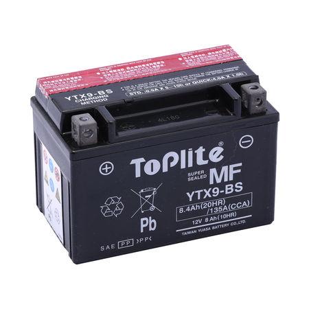 TOPLITE YUASA - Acumulator fara intretinere YTX9-BS
