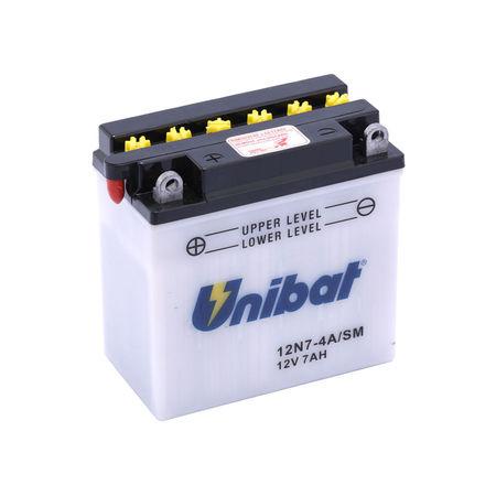 UNIBAT - Acumulator cu intretinere 12N7-4A-SM (12N7-4A)