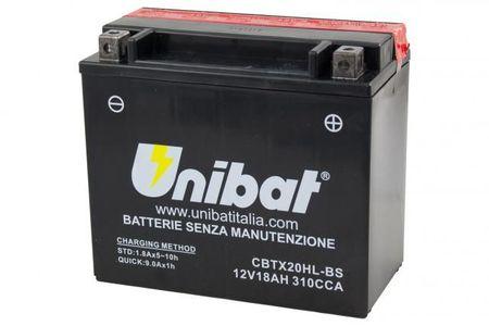 UNIBAT - Acumulator fara intretinere CBTX20HL-BS (YTX20HL-BS)