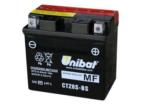 UNIBAT - Acumulator fara intretinere CTZ6S-BS