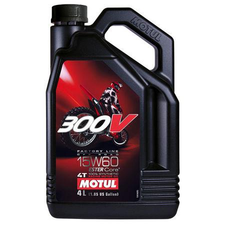 MOTUL - 300V 15W60 OFFROAD - 4L
