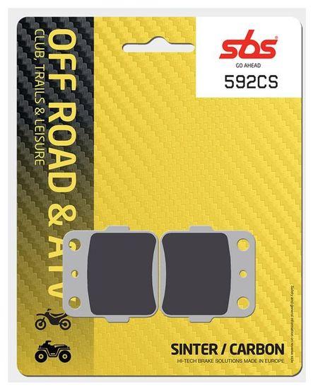 SBS - Placute frana OFFROAD - CARBON SINTER 592CS