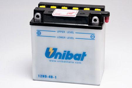 UNIBAT - Acumulator cu intretinere 12N9-4B-1-SM (12N9-4B-1)