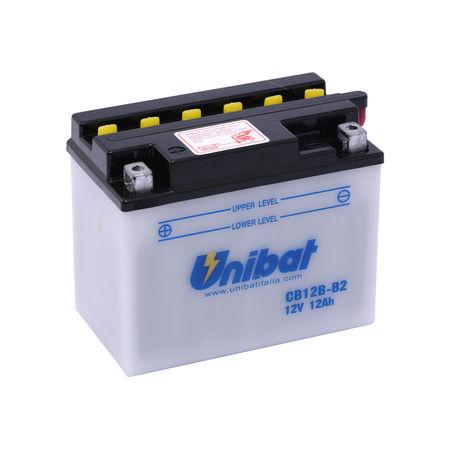 UNIBAT - Acumulator cu intretinere CB12BB2 (YB12B-B2) (Nu contine acid)
