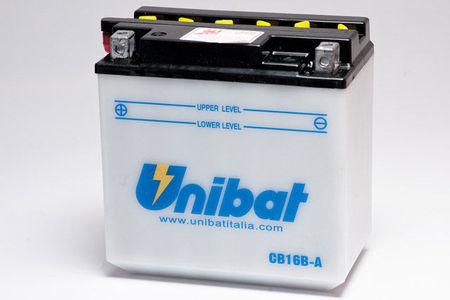 UNIBAT - Acumulator cu intretinere CB16B-A-SM (YB16B-A)