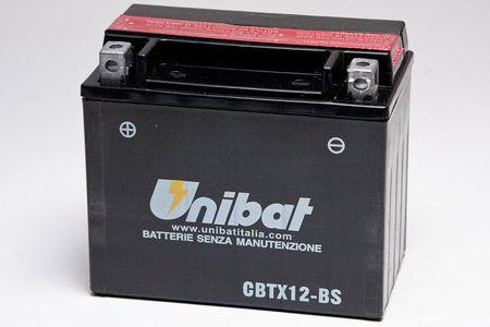 UNIBAT - Acumulator fara intretinere CBTX12-BS (YTX12-BS)