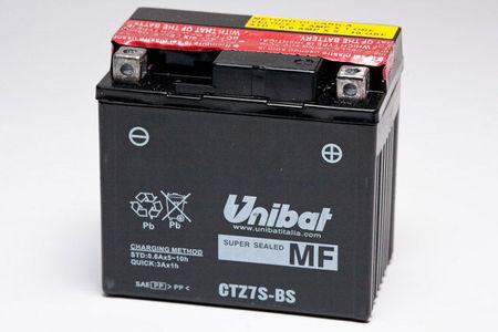 UNIBAT - Acumulator fara intretinere CTZ7S-BS (YTZ7-S)