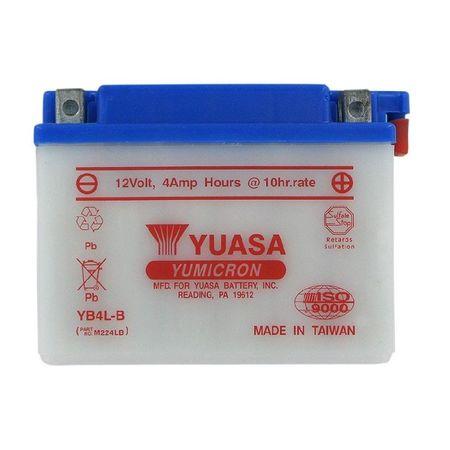 YUASA Japan - Acumulator cu intretinere YB4L-B