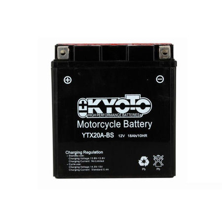 KYOTO - Acumulatori fara intretinere YTX20A-BS