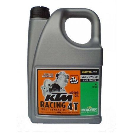 MOTOREX - KTM RACING 20W60 - 4L