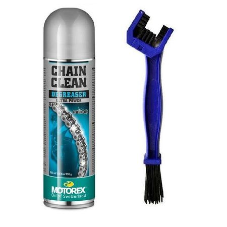 MOTOREX OFERTA - CHAIN CLEAN SPRAY - 500ML (SPRAY CURATARE LANT) + SIFAM PERIE LANT (OUT1015)