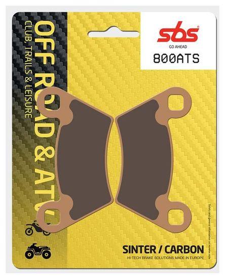 SBS - Placute frana OFFROAD / ATV - SINTER CARBON 800ATS