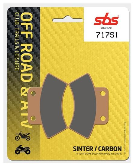 SBS - Placute frana OFFROAD - SINTER 717SI