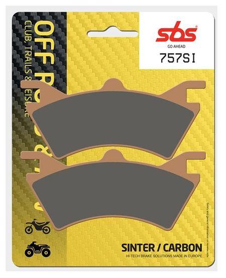 SBS - Placute frana OFFROAD - SINTER 757SI