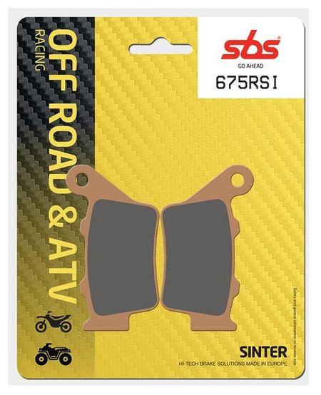SBS - Placute frana RACING OFFROAD - SINTER 675RSI