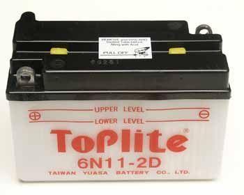 TOPLITE YUASA - Acumulator cu intretinere 6N11-2D