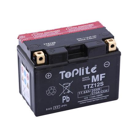 TOPLITE YUASA - Acumulator cu intretinere TTZ12S / YTZ12S