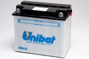 UNIBAT - Acumulator cu intretinere CB16-B-SM (YB16-B)
