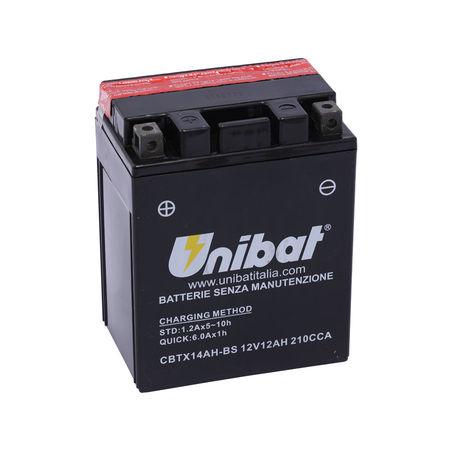 UNIBAT - Acumulator fara intretinere CBTX14AH-BS (YTX14AH-BS)