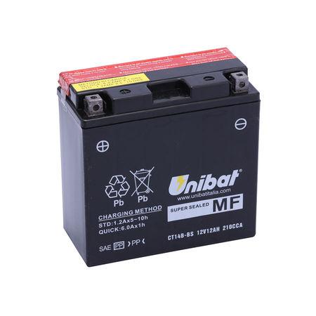 UNIBAT - Acumulator fara intretinere CT14B-BS (YT14B-BS)