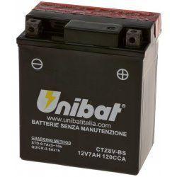 UNIBAT - Acumulator fara intretinere CTZ8V-BS