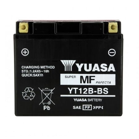YUASA Japan - Acumulator AGM fara intretinere YT12B-BS