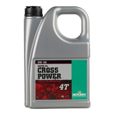 MOTOREX - CROSS POWER 5W40 - 4L
