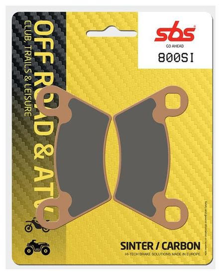 SBS - Placute frana OFFROAD - SINTER 800SI