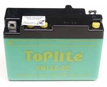 TOPLITE YUASA - Acumulator cu intretinere 6N12A-2D