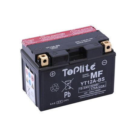 TOPLITE YUASA - Acumulator fara intretinere YT12A-BS