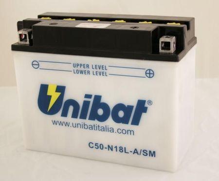 UNIBAT - Acumulator cu intretinere C50-N18L-A-SM (Y50-N18L-A)