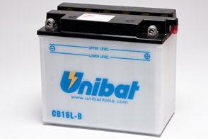 UNIBAT - Acumulator cu intretinere CB16L-B-SM (YB16L-B)