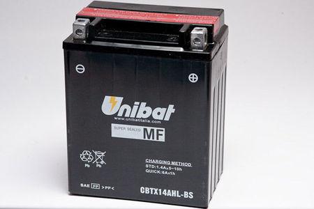 UNIBAT - Acumulator fara intretinere CBTX14AHL-BS (YTX14AHL-BS)