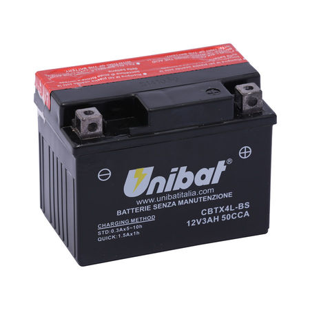 UNIBAT - Acumulator fara intretinere CBTX4L-BS (YTX4L-BS)