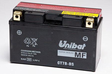 UNIBAT - Acumulator fara intretinere CT7B-BS (YT7B-BS)