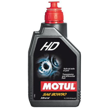 MOTUL - HD 80W90 - 1L (GEARBOX & DIFFERENTIAL OIL)