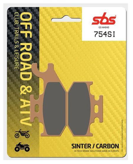 SBS - Placute frana OFFROAD - SINTER 754SI