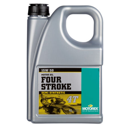 MOTOREX - FOUR STROKE 15W50 - 4L