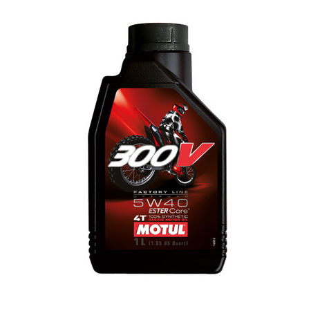 MOTUL - 300V 5W40 OFFROAD - 1L