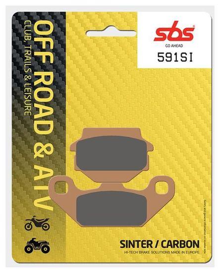 SBS - Placute frana OFFROAD - SINTER 591SI