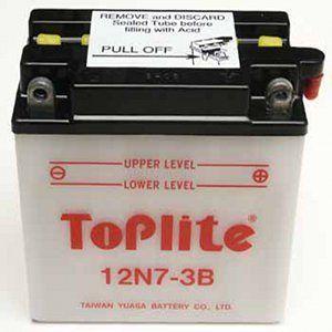 TOPLITE YUASA - Acumulator cu intretinere 12N7-3B