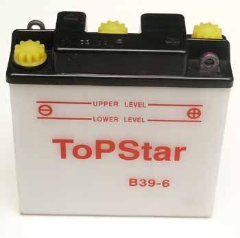 TOPLITE YUASA - Acumulator cu intretinere B39-6