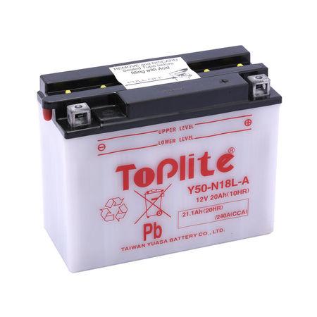TOPLITE YUASA - Acumulator cu intretinere Y50-N18L-A