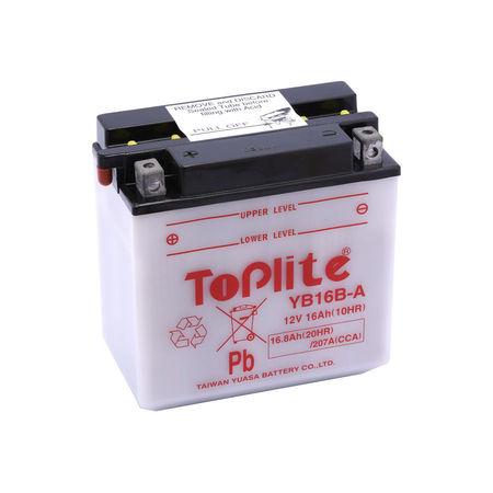 TOPLITE YUASA - Acumulator cu intretinere YB16B-A