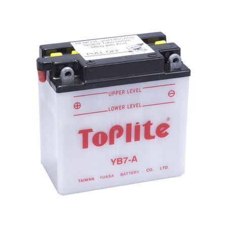 TOPLITE YUASA - Acumulator cu intretinere YB7-A / 12N7-4A