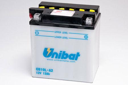 UNIBAT - Acumulator cu intretinere CB10L-A2-SM (YB10L-A2)