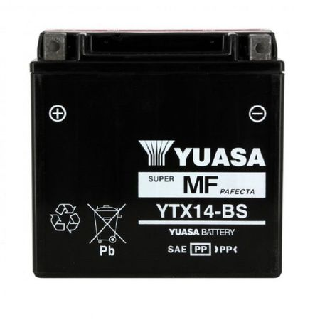 YUASA Japan - Acumulator AGM fara intretinere YTX14-BS
