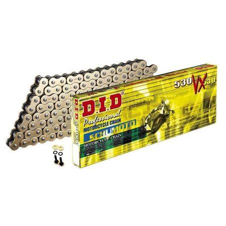 DID - Lant 50VX cu 104 zale - [Gold] X-Ring