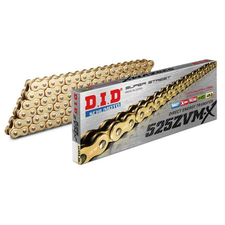 DID - Lant 525ZVM-X cu 120 zale - [Gold] X-Ring