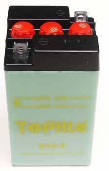 TOPLITE YUASA - Acumulator cu intretinere B49-6